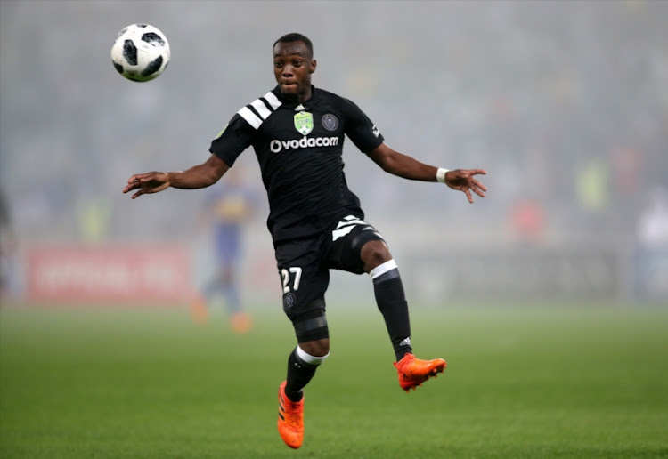 Justin Shonga of Orlando Pirates was on target on Wednesday night.