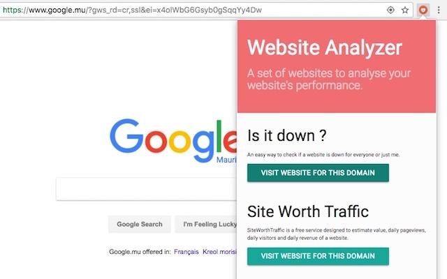 Website Analyzer