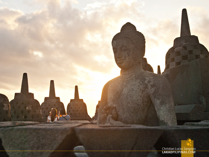 Borobudur Temple Sunrise Indonesia