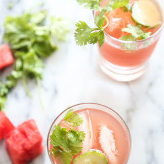 Watermelon-Cucumber Kombucha Coolers (Tequila Optional).