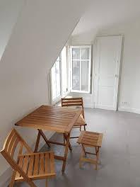 Studio meublé 16,98 m2