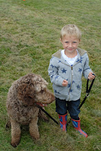 Photo: Brian Labradoodle and Will