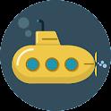 Flappy Ninja submarine icon
