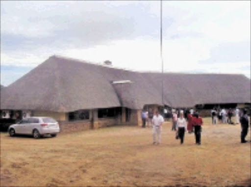 NEW AGE: The opening of the Bhambatha Lodge in Ngome, KwaZulu-Natal, will promote Zulu culture, help create employment and trigger other economic activities in the area. 17/05/09. Pic. Mhlaba Memela. © Sowetan.