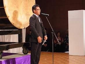 Photo: 株式会社モリタの高須取締役の名スピーチ