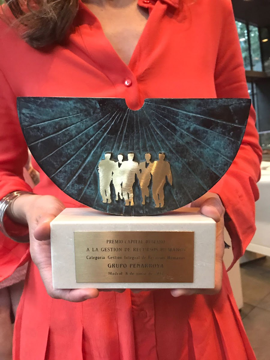 Premio Recursos Humanos Grupo Peñarroya