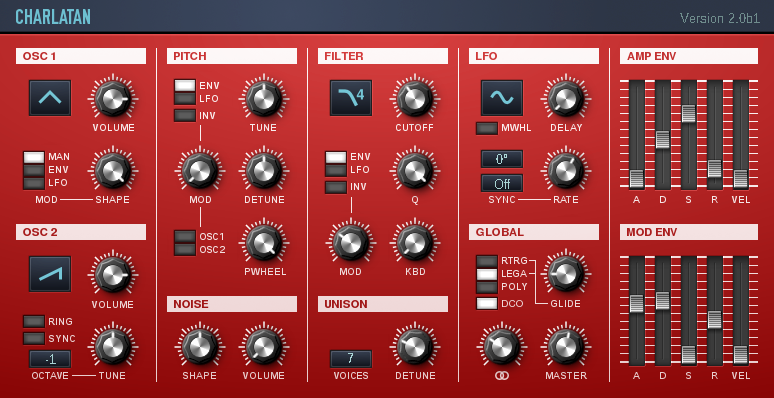 free vst synth Charlatan