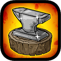 Medieval Clicker Blacksmith - Best Idle Tap Games icon