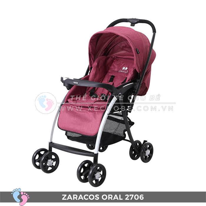 Xe đẩy 2 chiều Zaracos ORAL 2706 10