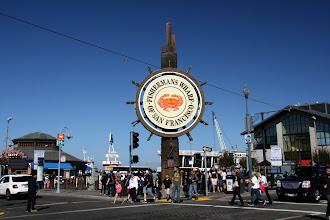 Photo: Fisherman's Wharf, the Waikiki of San Francisco.