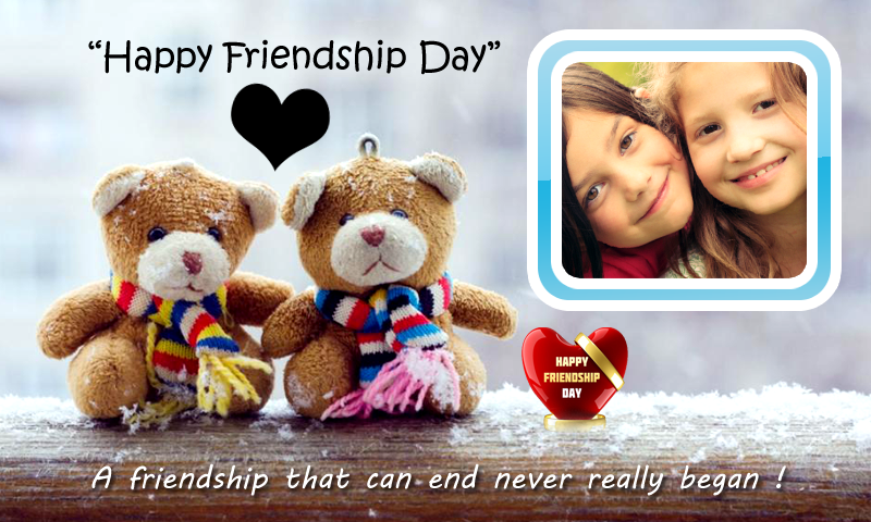 friendship day frames free screenshot