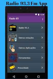Radio 93.3 Fm App - náhled