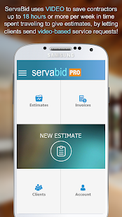 Estimate and Invoice from Video - ServaBid – Apps bei Google Play