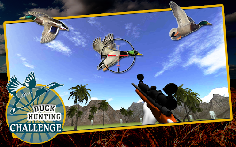 android Duck Hunting Challenge Screenshot 2