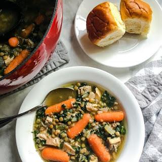 Turkey Lentil Soup.