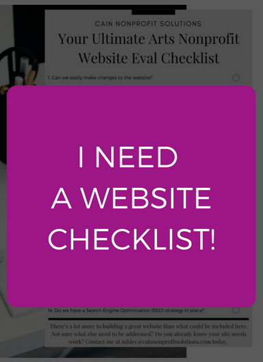 Click here to get the website checklist
