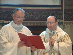 Photo: Padre Roberto M. Nardin e il nostro Roberto