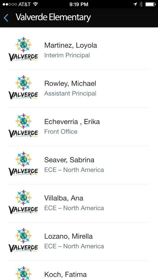 Valverde Elementary- screenshot