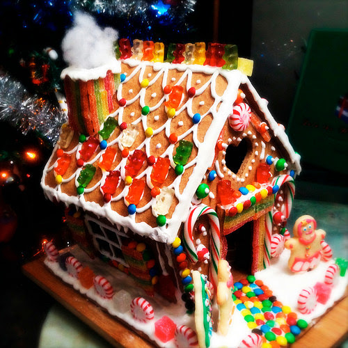how to make, homemade, recipe, hansel and gretel, Gingerbread House,step by step, guide, 自製, 薑餅屋, royal icing