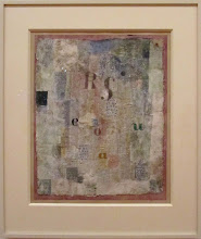 Photo: Paul KLEE - Vocal fabric of the singer Rosa Silber