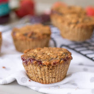 Jelly Filled Oatmeal Muffins.