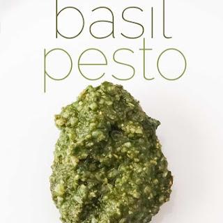 Authentic Italian Homemade Pesto Recipe