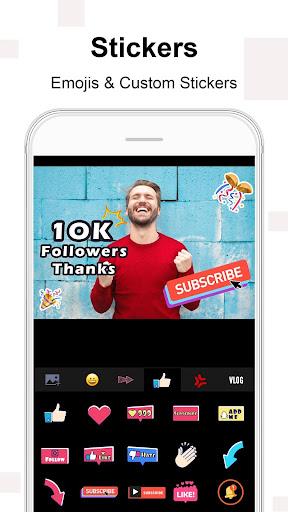 Vlog Star for YT - free video editor & maker 3.3.5 screenshots 6