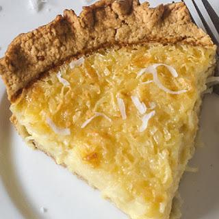 Old Fashioned Coconut Custard Pie Recipe