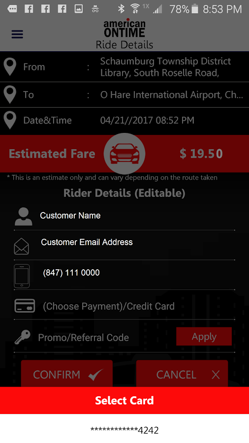 American Ontime-Taxi Rider- screenshot