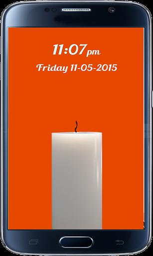 Candle Screenlock