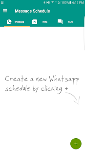Schedule Message- screenshot thumbnail