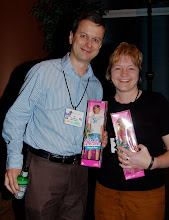 Photo: Ian Skerret and Janet Campbell