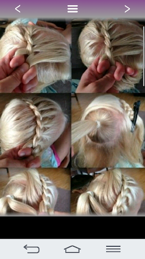 Hairstyles for girls 2017 Screenshot