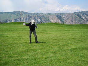 Photo: Desert Canyon Golf Resort near Orondo, WA. Entiat Mountains in the background.