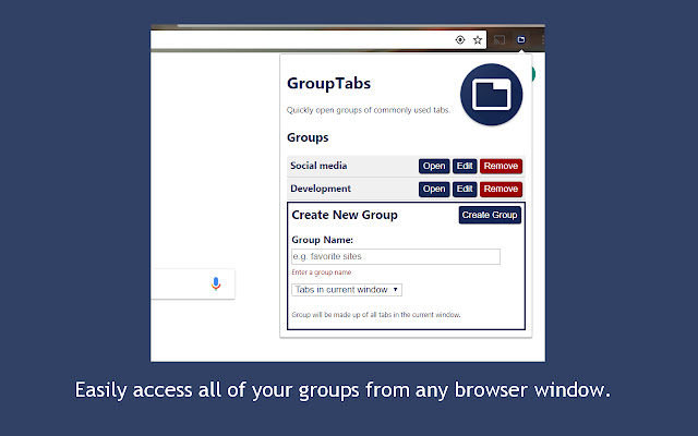 Group Tabs