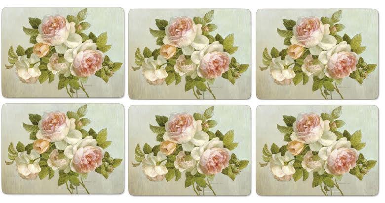Antique Rose Bordsunderlägg 6-pack