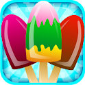 Ice Candy Maker-Cooking Game icon