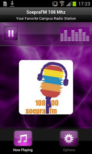玩免費音樂APP|下載SoepraFM 108 Mhz app不用錢|硬是要APP