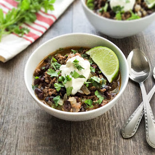 Ground Beef Black Bean Soup Recipes