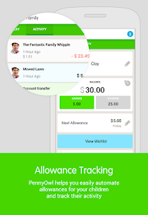PennyOwl Allowance Tracker- screenshot thumbnail