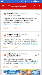 Turkmenistan All News (Туркменистан Все новости) - náhled