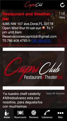 Capri Club Miami