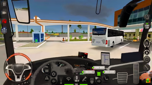 Modern Heavy Bus Coach: Public Transport Free Game  screenshots 18