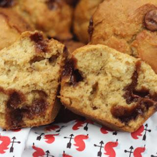 Wholemeal Choc-chip banana muffins