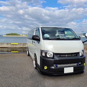 ハイエース TRH200V SUPER GL 2018年式のカスタム事例画像 keiji@黒バンパー愛好会さんの2020年10月23日23:28の投稿