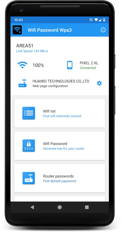 WIFI PASSWORD WPA3 Screenshot 0