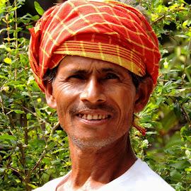 portrait by SANGEETA MENA  - People Portraits of Men (  )