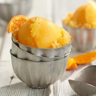 Orange Sorbet.