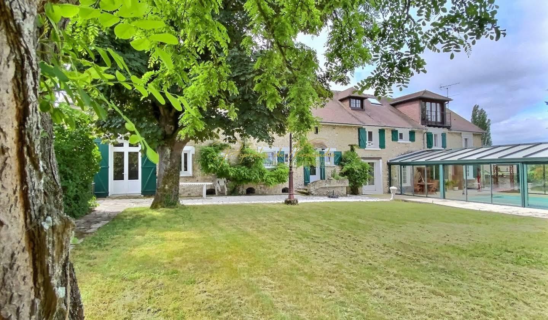 Maison avec piscine Hecourt