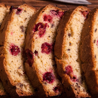 Cranberry-Orange Quick Bread.